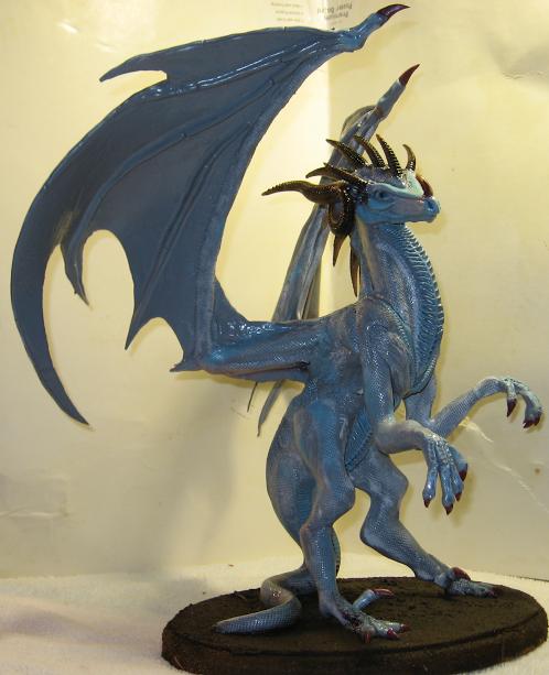 Chris Porter Black horned dragon