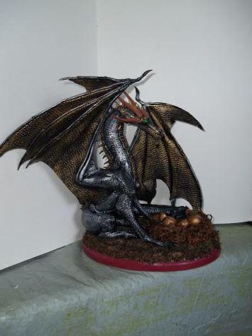 Chris Porter silver dragon